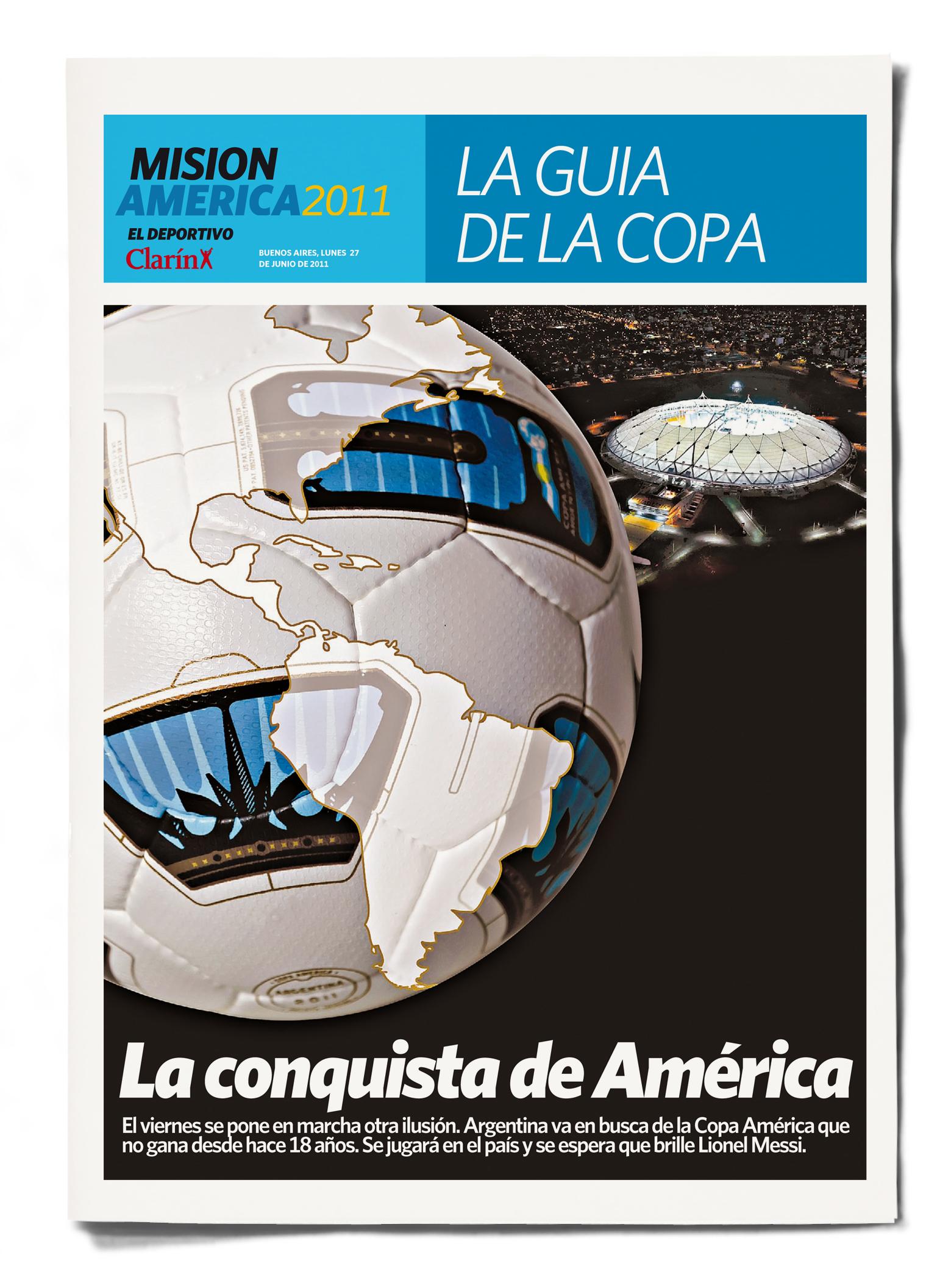 Clarín Deportivo Copa América 2011