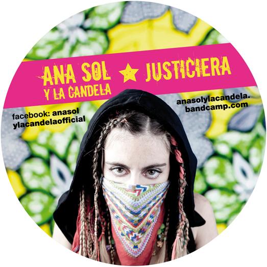 Anasol & La Candela Sticker