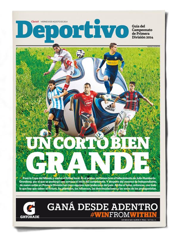 Clarin Deportivo Primera Division 2014