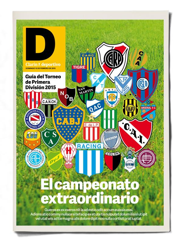 Clarin Deportivo Torneo Primera Division 2015