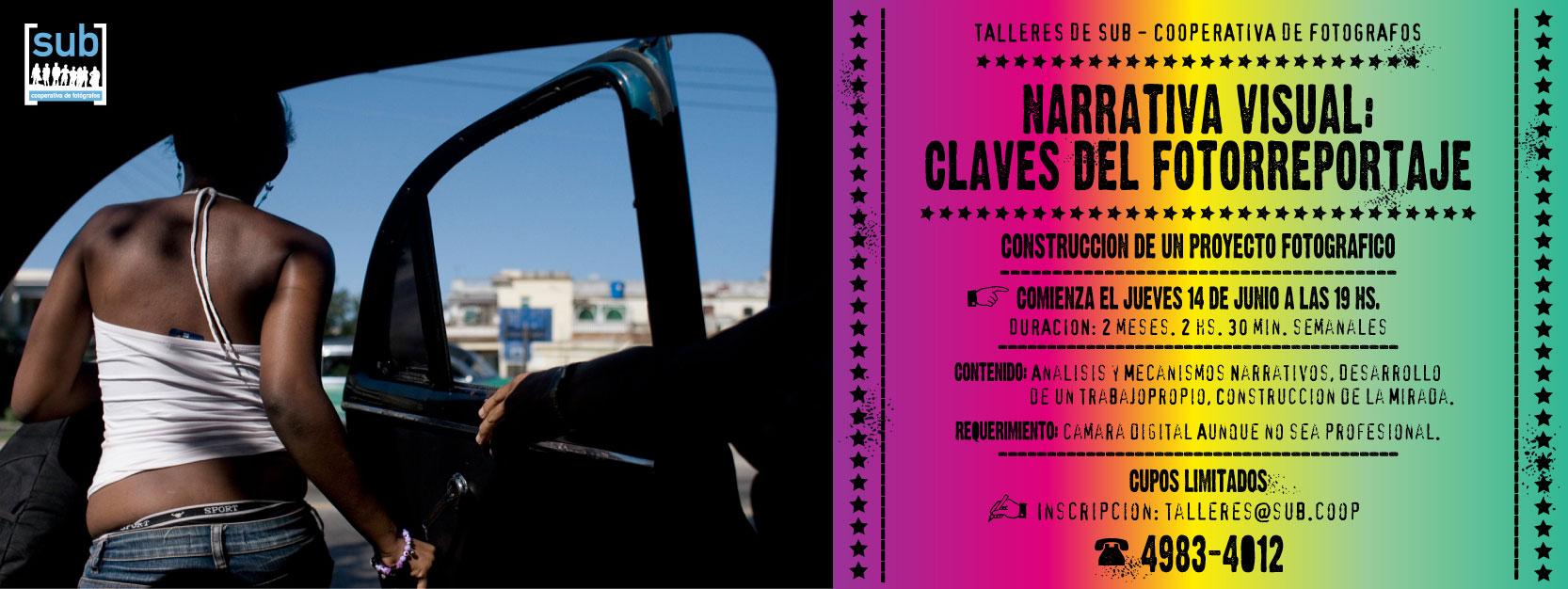Flyer Narrativa 2012