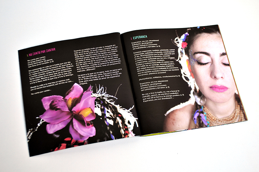 Anasol & La Candela CD. Booklet