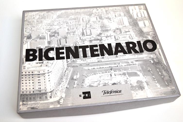 EFE Libro Bicentenario. Caja