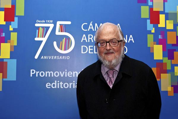 Fiesta 75 Aniversario. Daniel Divinsky, directivo de Ediciones de la Flor