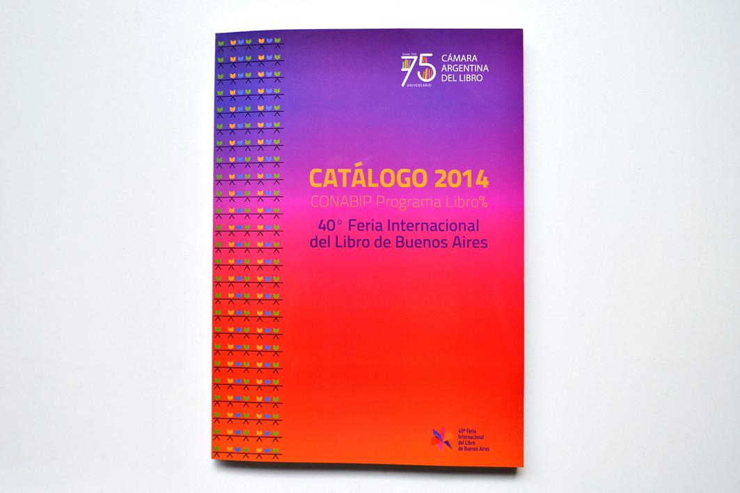 CAL Catálogo Feria del Libro 2014. Tapa