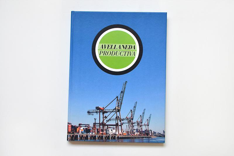 Libro Avellaneda Productiva. Tapa