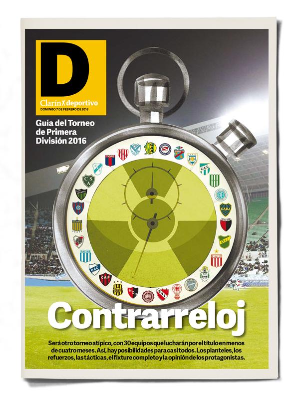Clarin Deportivo. Guía Torneo Primera División 2016