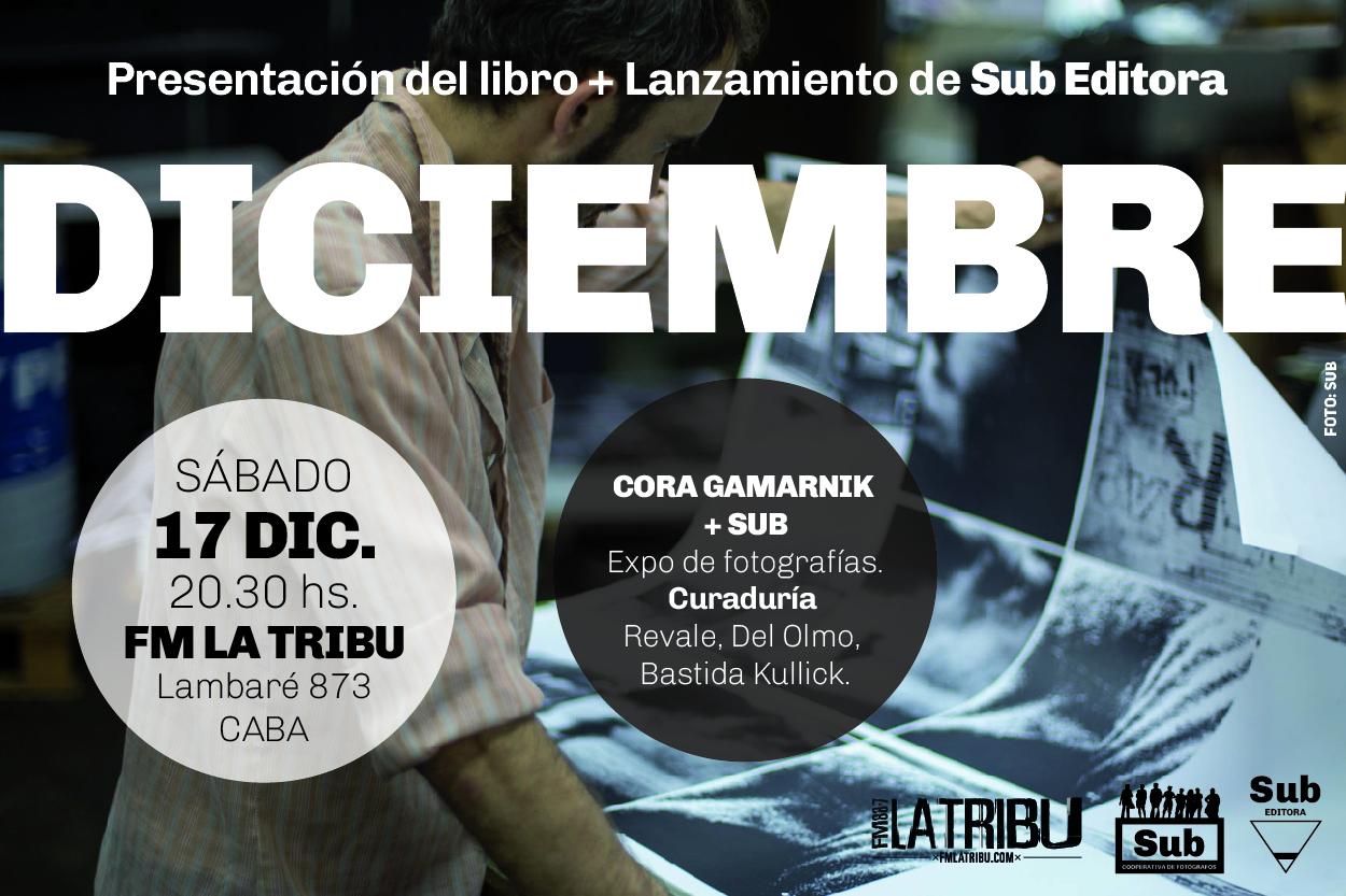 Sub flyer DICIEMBRE Presentacion La Tribu