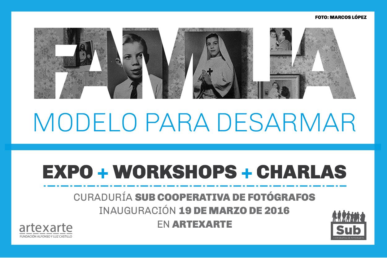 Familia. Modelo para desarmar. Expo de Sub Cooperativa de Fotógrafos